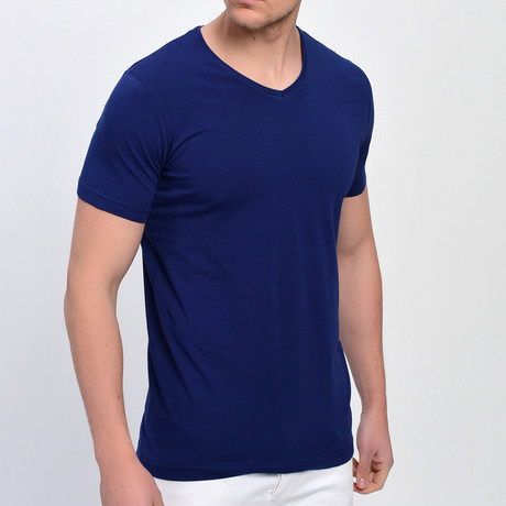 Milo T-Shirt // Navy Blue (XS)