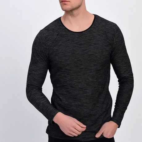 Canyon Sweatshirt // Black (XS)