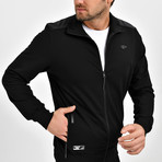 Granite Track Top // Black (L)