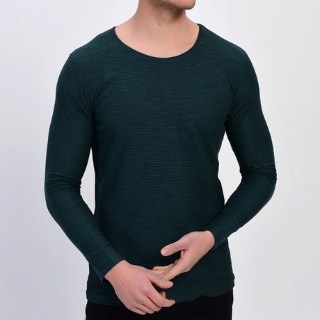 Canyon Sweatshirt // Green (XS)