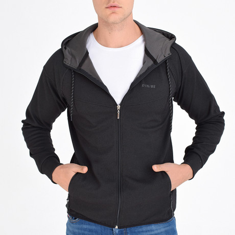 Rushmore Track Top // Black (S)