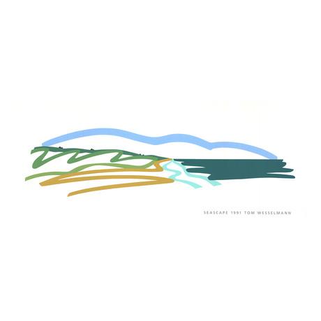 Seascape (No text) // Tom Wesselmann