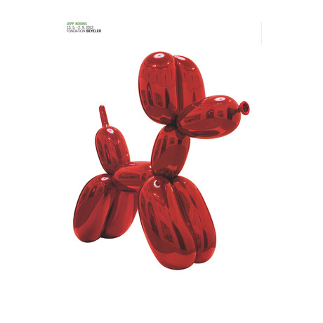 Balloon Dog (Red) // Jeff After Koons