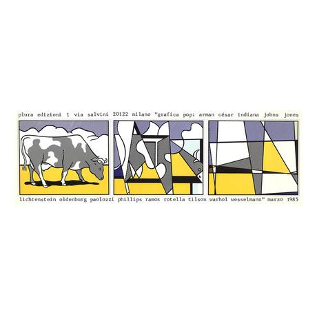 Cow Going Abstract // Roy Lichtenstein