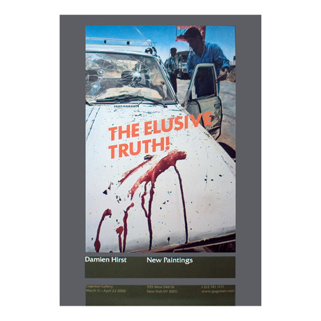 The Elusive Truth // Damien Hirst