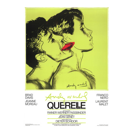 Querelle Green // Andy Warhol