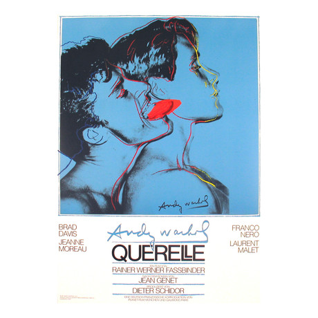 Querelle Blue // Andy Warhol