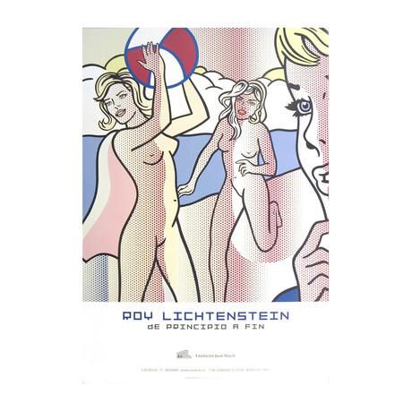 Nudes with Beach Ball // Roy Lichtenstein