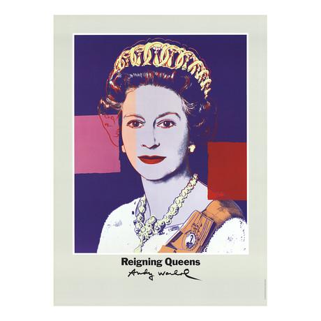 Queen Elizabeth II of England from Reigning Queens // Andy Warhol