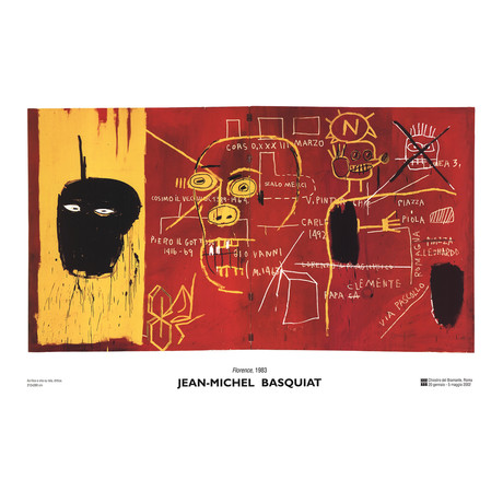 Florence  // Jean-Michel Basquiat