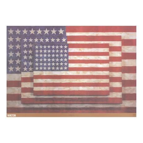 Three Flags // Jasper Johns