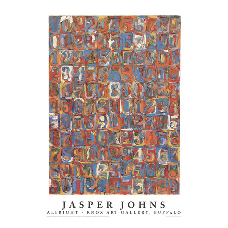Numbers in Color // Jasper Johns