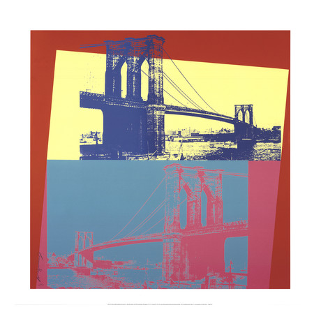 Brooklyn Bridge // Andy Warhol // Giclee