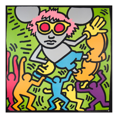 Andy Mouse // Keith Haring