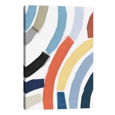 """Rainbow River // Isabelle Z (26""""W x 40""""H x 1.5""""D)"""