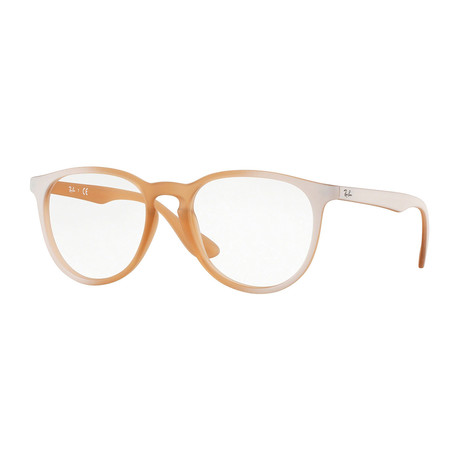 Women's 0RX7046 Teardrop Optical Frames // Orange + White