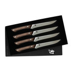Shima // 4 Piece Steak Knife Set // Natural