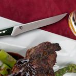 Shima // 4 Piece Steak Knife Set // Black