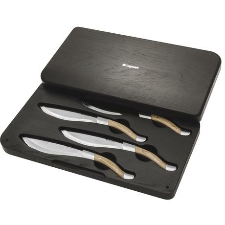 ANGUS STEAK KNIFE // SET OF 4 + LUXURY WOODEN BOX