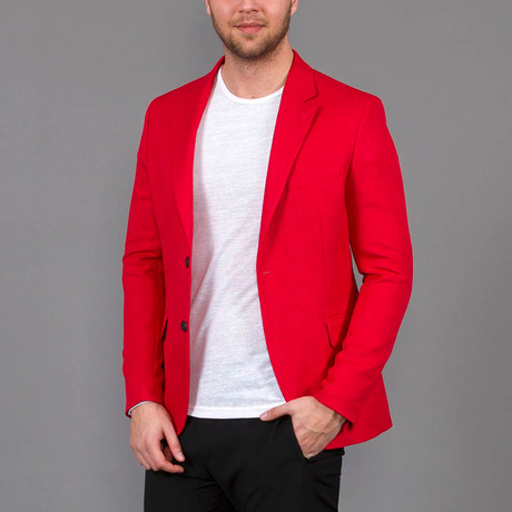 Dylan Jacket // Red (Euro: 46)