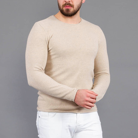 Lewis Tricot T-Shirt // Beige (S)