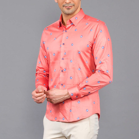 Owen Shirt // Salmon (S)