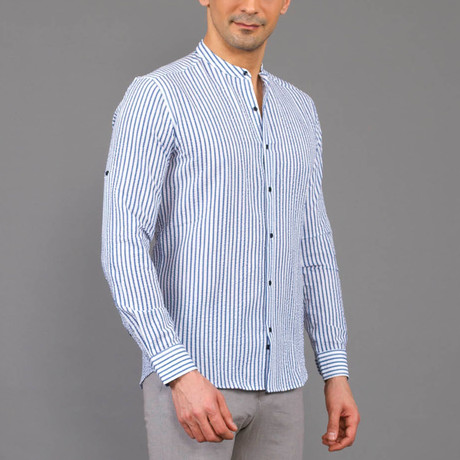 Jameson Shirt // Dark Blue (S)