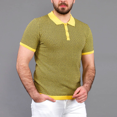Ryan Tricot T-Shirt // Yellow (S)