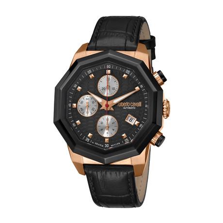 Roberto Cavalli Chronograph Swiss Automatic // RV1G079L0046