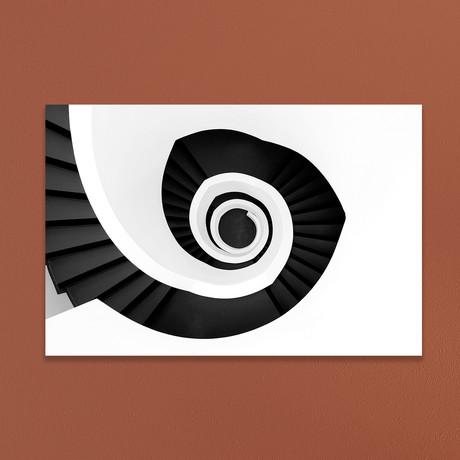 "Spiral Staircase (16""W x 20""H x 1""D)"
