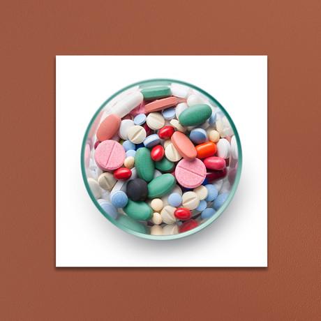 """Pills (10""""W x 10""""H x 1""""D)"""