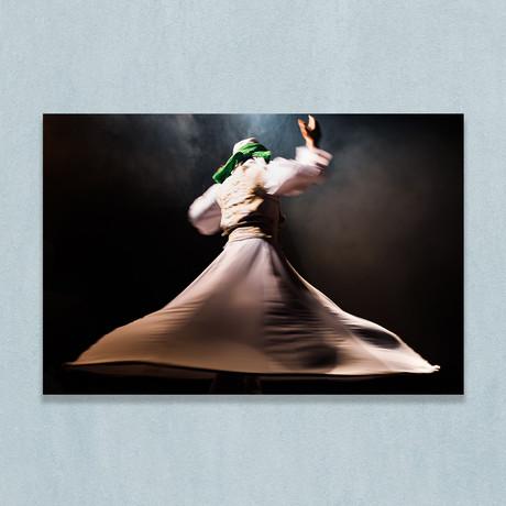 "Whirling Dervish Dancer (16""W x 20""H x 1""D)"