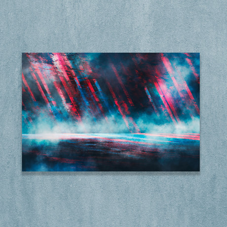 """Reflection Of Lights (16""""W x 20""""H x 1""""D)"""