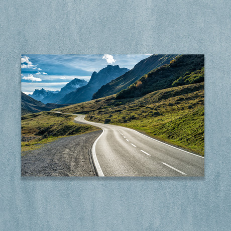 "Winding Mountain Road (16""W x 20""H x 1""D)"