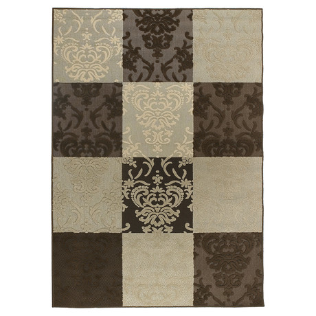 "Calcutta Indoor + Outdoor Rug (1'11"" x 3'7"")"