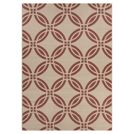 "Doreen Indoor + Outdoor Rug (3'11"" x 5'7"")"