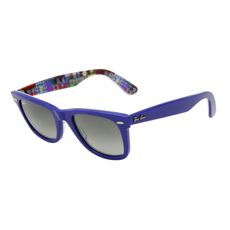 Men's Original Wayfarer Sunglasses // Blue + Gray Gradient