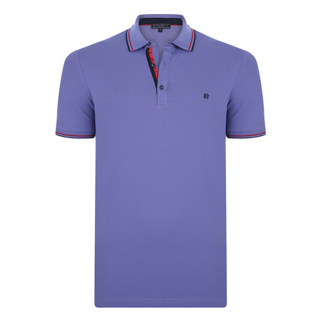 Prince Short Sleeve Polo Shirt  // Purple (XS)