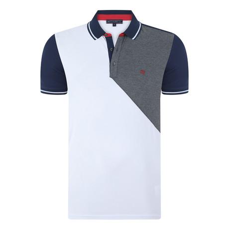 Carson Short-Sleeve Polo Shirt // White (XS)