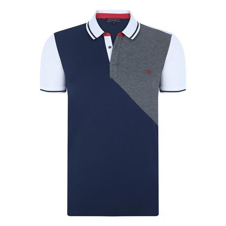 Raul Short-Sleeve Polo Shirt // Navy (XS)
