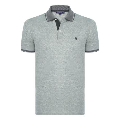 Sander Short Sleeve Polo Shirt // Green (S)