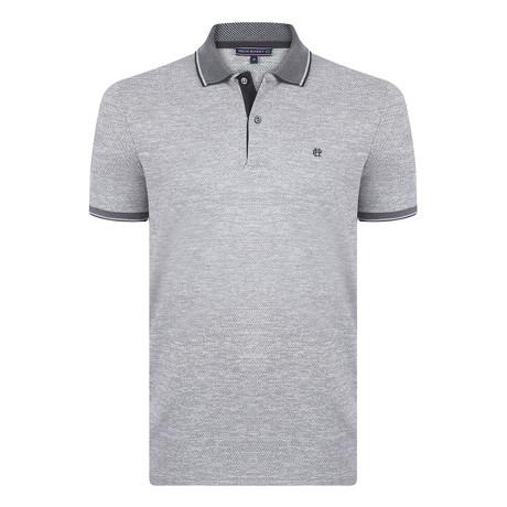 Arthur Short Sleeve Polo Shirt // Black (S)