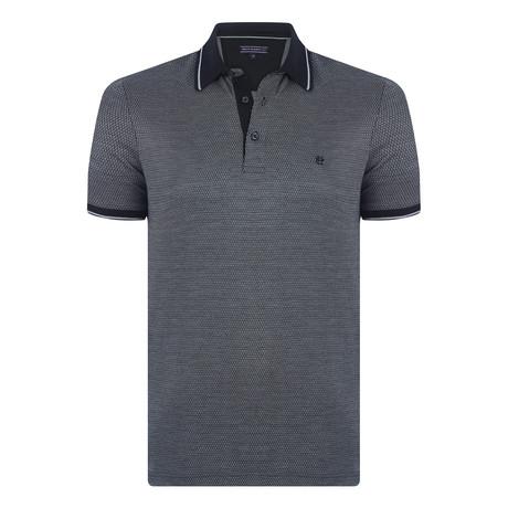 Bernard Short Sleeve Polo Shirt  // Black (XS)