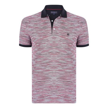 Adam Short-Sleeve Polo Shirt // Pink (XS)