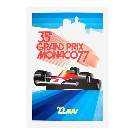 Monaco Grand Prix 1977 // Roland Hugon