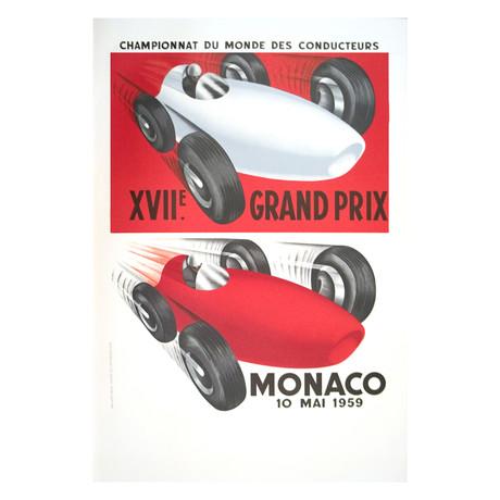 Monaco Grand Prix 1959 // Unknown