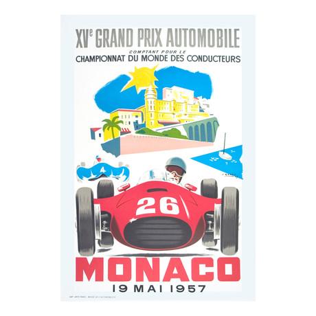 Monaco Grand Prix 1957 // Jean Ramel