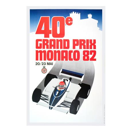 Monaco Grand Prix 1982 // Unknown
