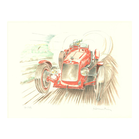 Maserati  // Alain Moitrier