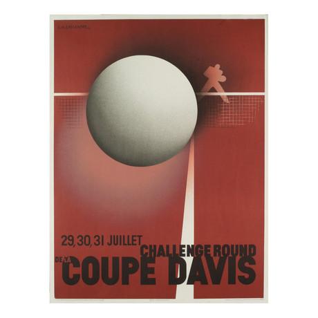 Coupe Davis (Restrike) // A.M. Cassandre